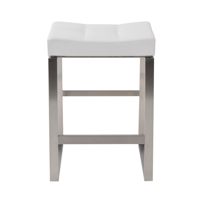 Sabriel White Counter Stool  main image, 1 of 4 images.