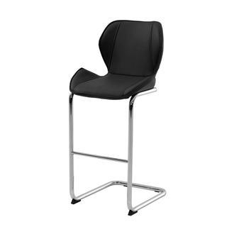 Latika Black Bar Stool