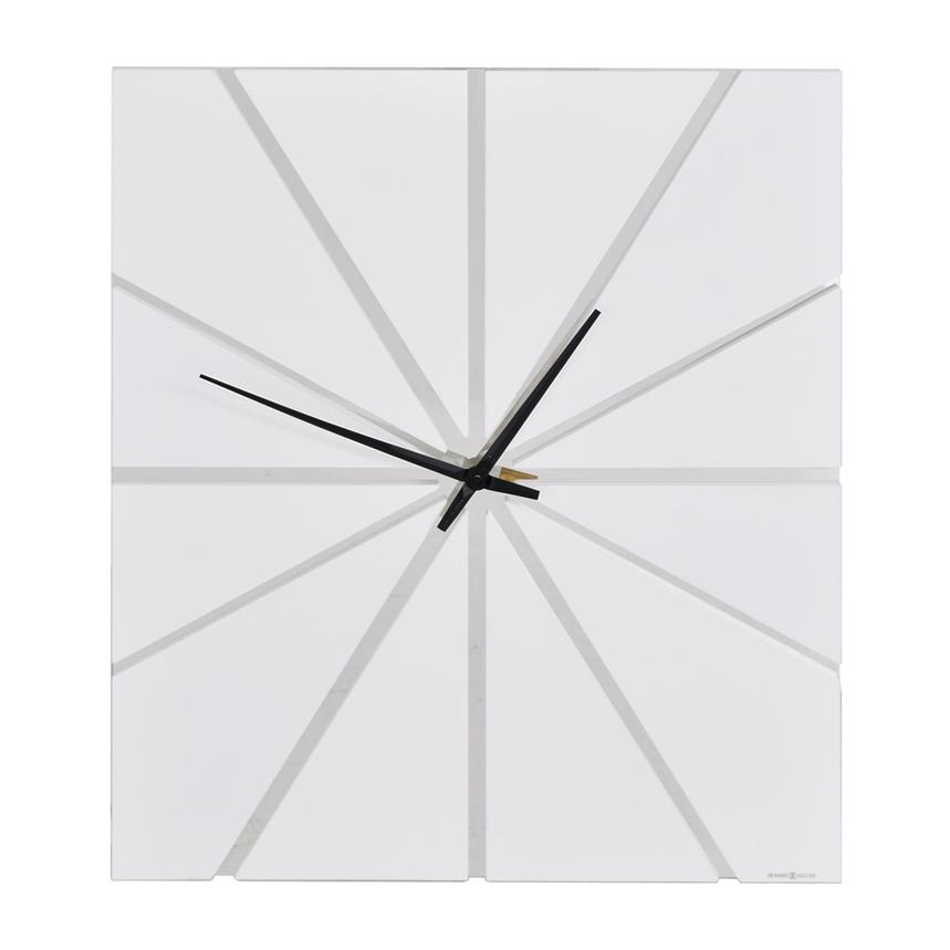 Gale White Wall Clock  alternate image, 2 of 3 images.