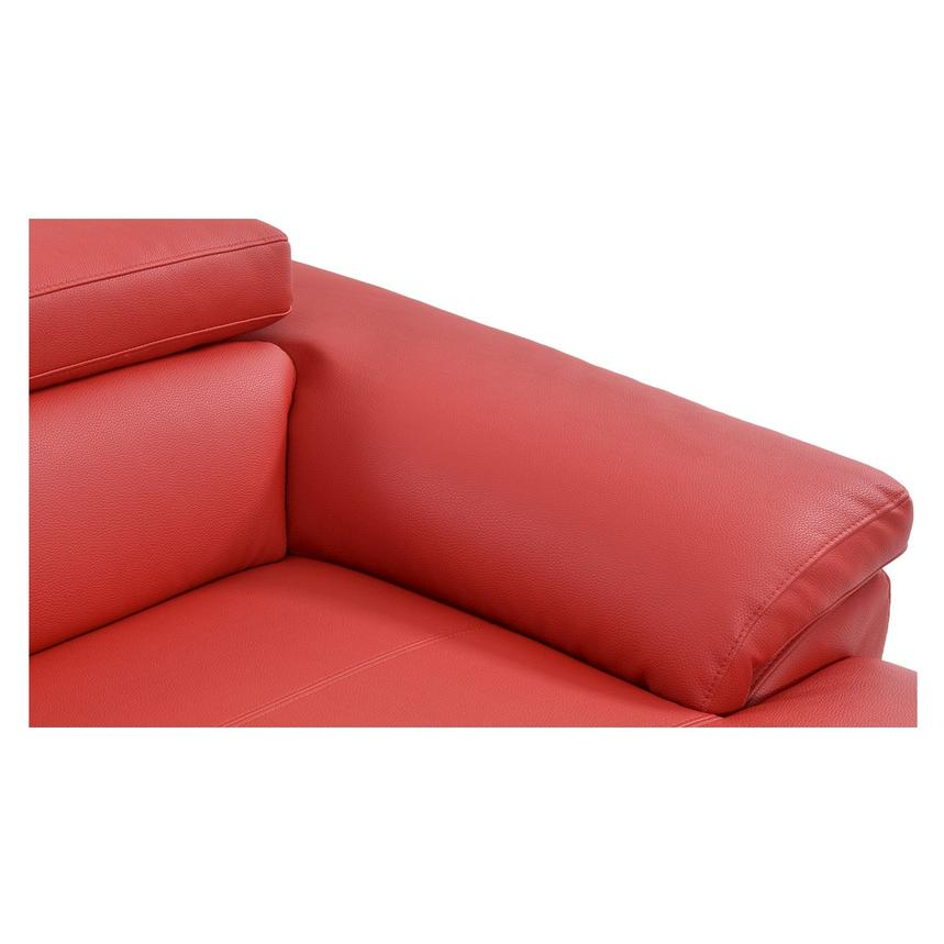 Costa Red Oversized Sofa  alternate image, 7 of 7 images.
