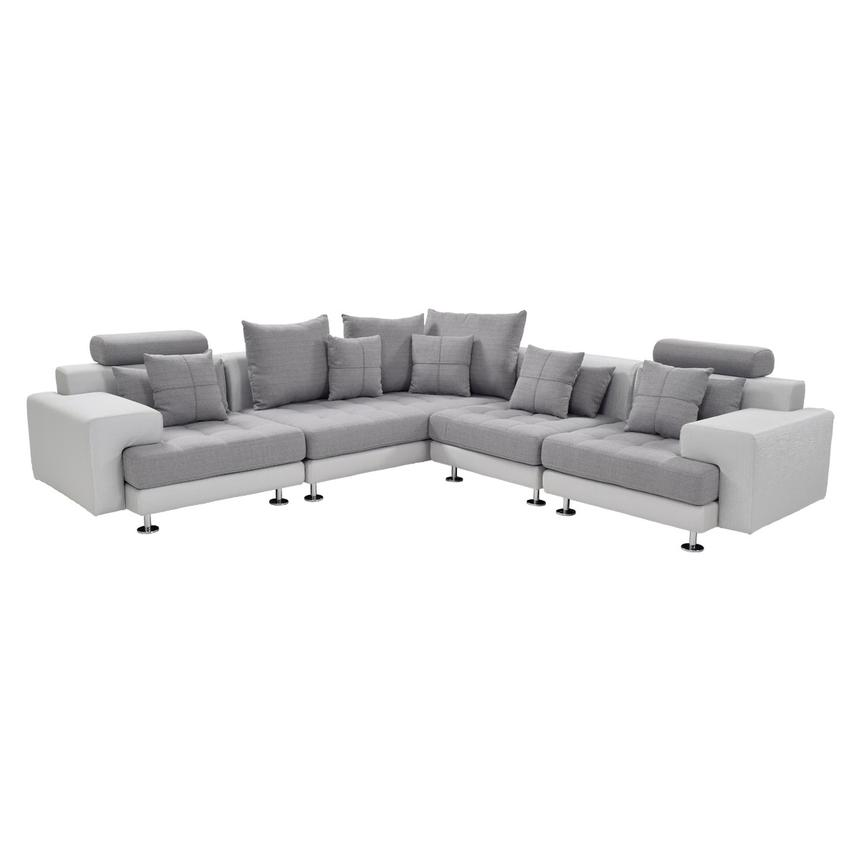 Aldi Sectional Sofa  main image, 1 of 9 images.
