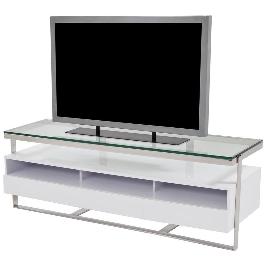 Calypso White Tv Stand El Dorado Furniture