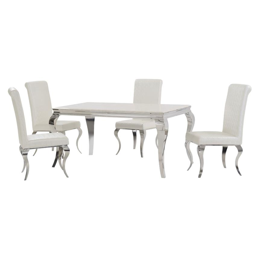 Lizbon 5-Piece Dining Set  main image, 1 of 10 images.