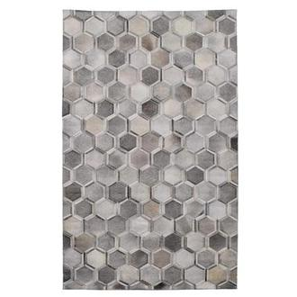 Cannes II Cowhide Patchwork 5' x 8' Area Rug