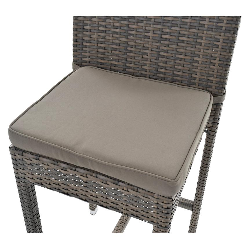 Neilina Brown 3-Piece Patio Set w/ Ice bucket  alternate image, 9 of 10 images.
