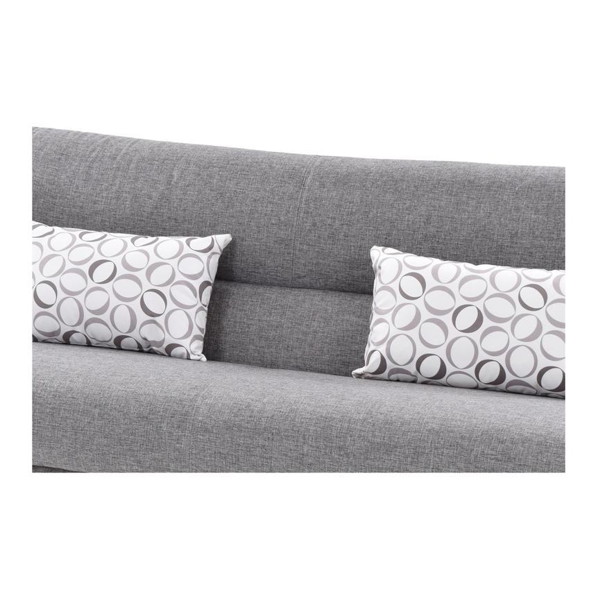 Regata Gray Futon W Storage El Dorado Furniture