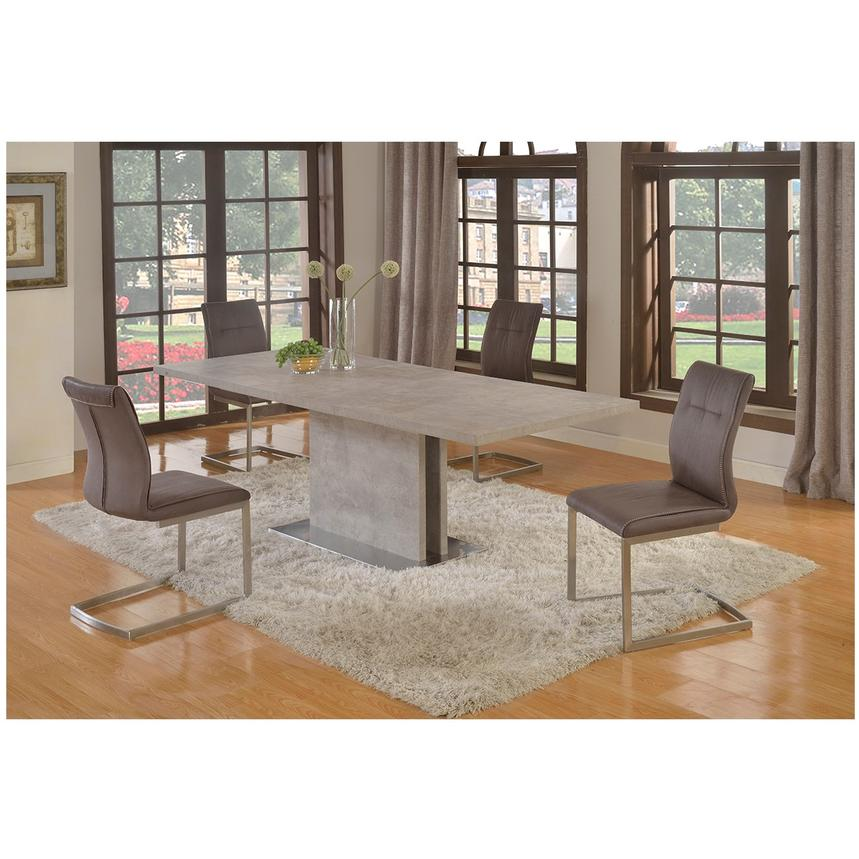 Kalinda 5-Piece Formal Dining Set  alternate image, 2 of 14 images.