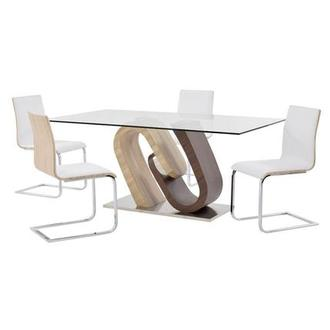 Serpentine/Solimar 5-Piece Casual Dining Set