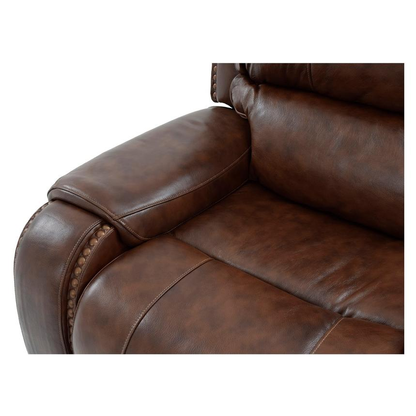 Durham Leather Power Reclining Sofa  alternate image, 7 of 9 images.