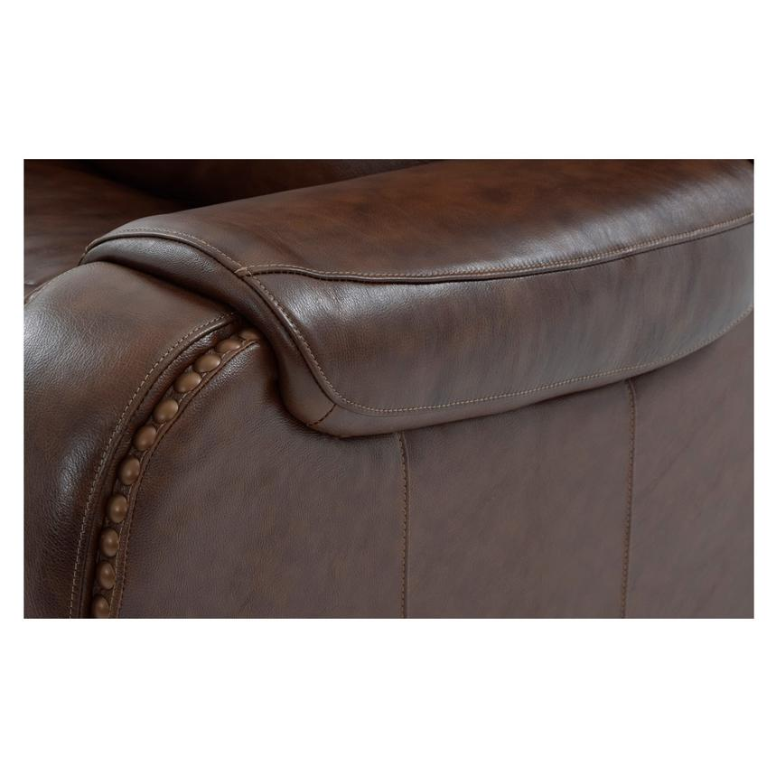Durham Power Motion Leather Sofa  alternate image, 8 of 9 images.