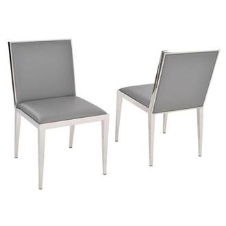 Gemma Gray Side Chair