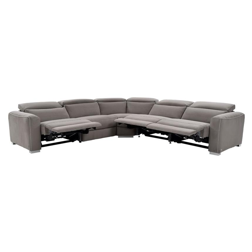 Bay Harbor Power Motion Sofa w/Right & Left Recliners  alternate image, 2 of 10 images.