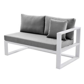 Mykonos Gray Right Sofa