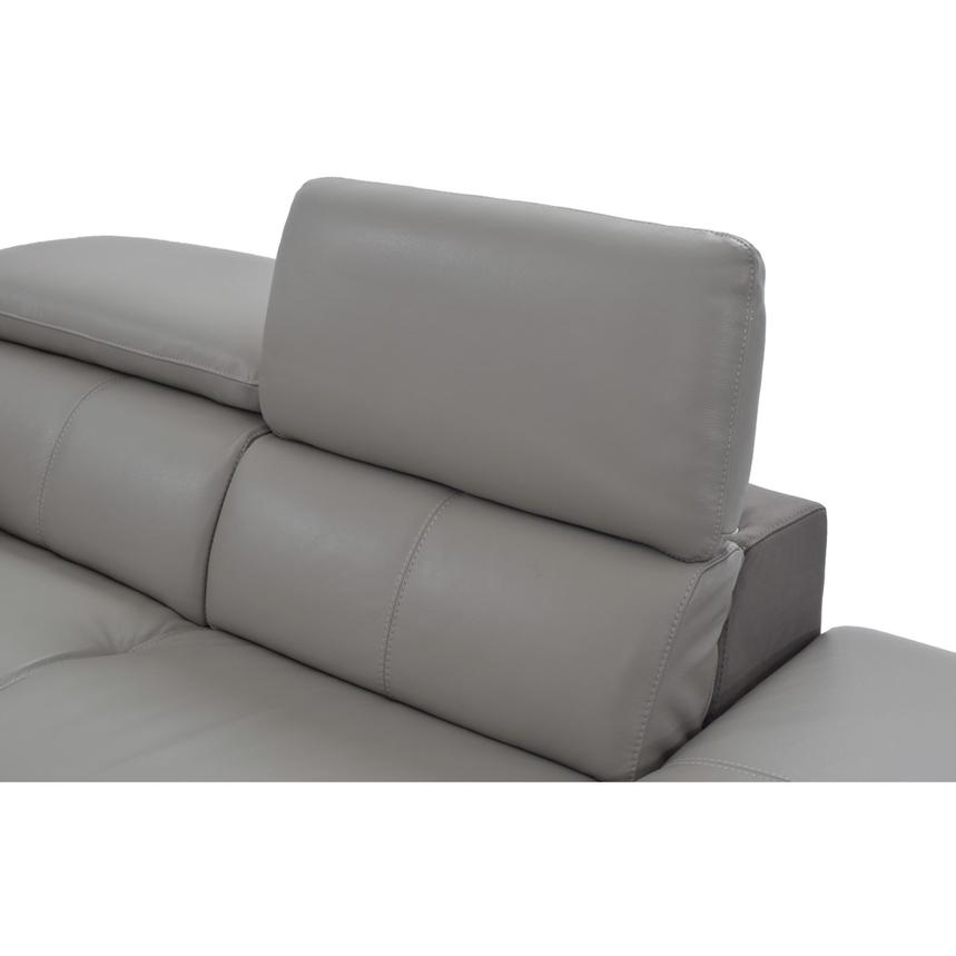 Richardson Leather Power Reclining Sofa w/Right Chaise  alternate image, 7 of 10 images.