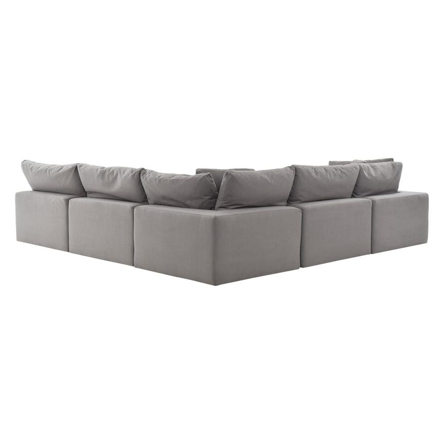 Nube II Gray Sectional Sofa  alternate image, 4 of 11 images.