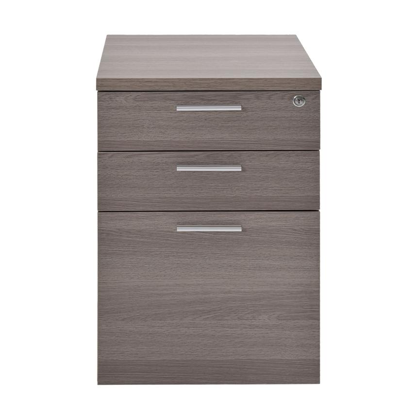 Bellmar Gray Lateral File Cabinet  alternate image, 3 of 8 images.