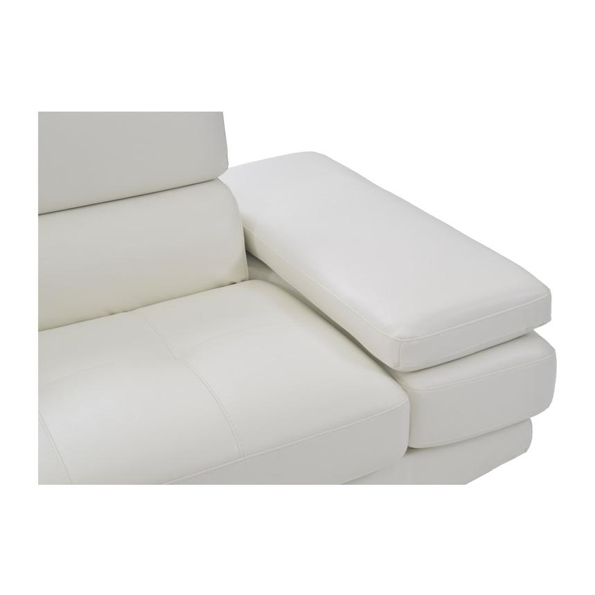 Tahoe II Off White Sofa w/Left Chaise  alternate image, 7 of 9 images.