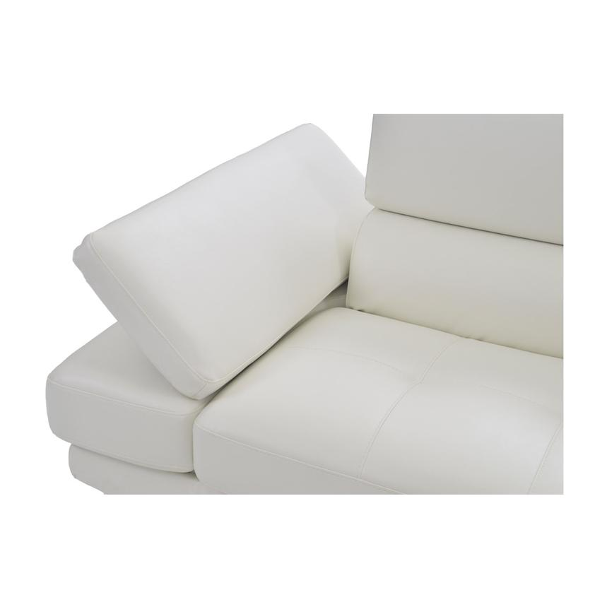 Tahoe II Off White Sofa w/Right Chaise  alternate image, 8 of 9 images.