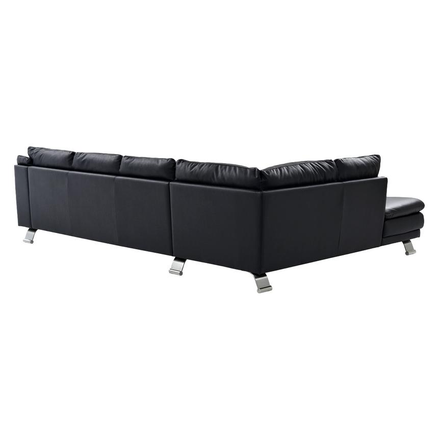 Surprising Rio Dark Gray Leather Corner Sofa W Left Chaise Caraccident5 Cool Chair Designs And Ideas Caraccident5Info