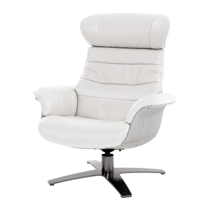 Brilliant Enzo Pure White Leather Swivel Chair Squirreltailoven Fun Painted Chair Ideas Images Squirreltailovenorg