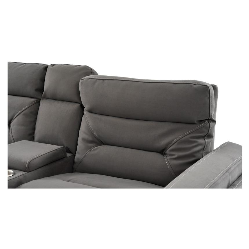 Kim Gray Power Motion Sofa w/Console  alternate image, 8 of 10 images.