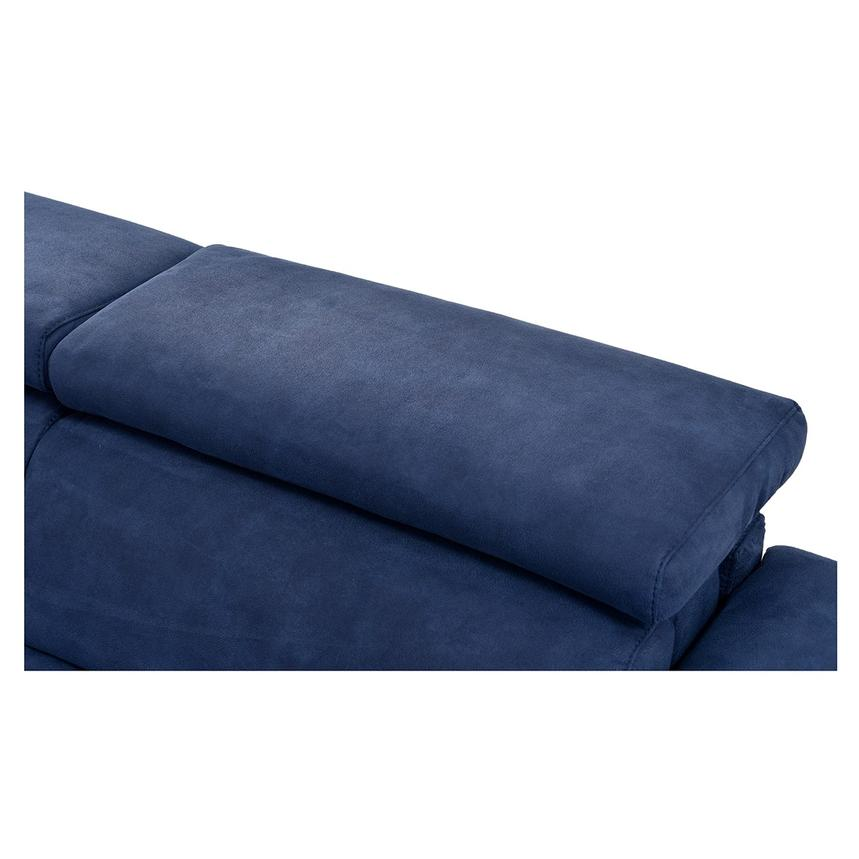 Kathan Blue Power Motion Sofa w/Right & Left Recliners  alternate image, 8 of 12 images.