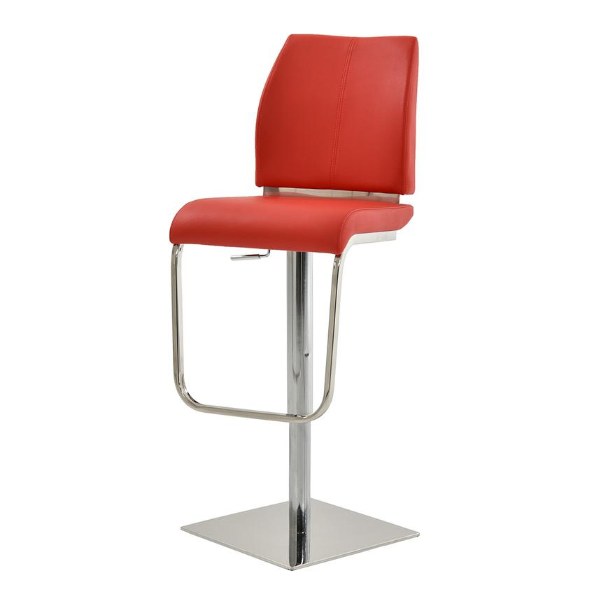 Maday Red Adjustable Stool  alternate image, 2 of 5 images.