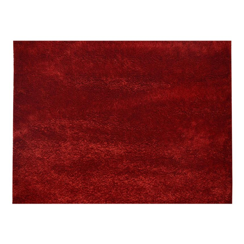 Chic Red 5' x 8' Area Rug  alternate image, 2 of 2 images.