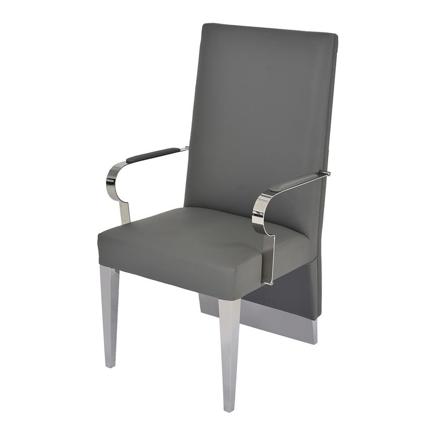 Ulysis Gray Arm Chair  alternate image, 2 of 6 images.