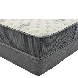 Bay Point King Mattress w/Regular Foundation by Simmons Beautyrest Silver