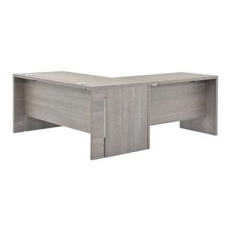 Tivo Gray L-Shaped Desk