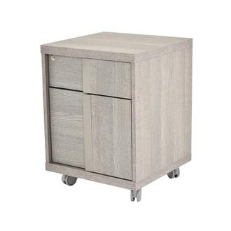 Tivo Gray Rolling File Cabinet Made in Italy