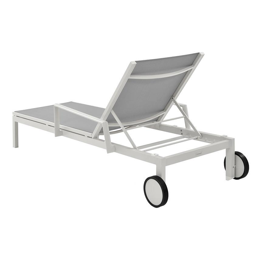 Mykonos Gray Chaise Lounge El Dorado Furniture
