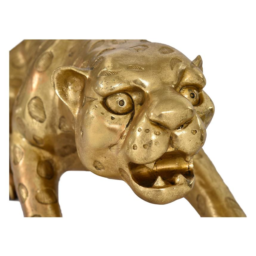 Gold Leopard Figure  alternate image, 2 of 3 images.