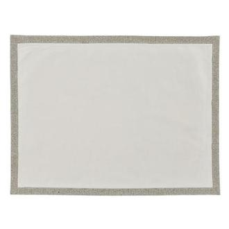 Glam White Place Mat