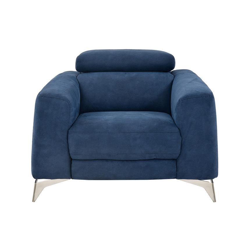 Piera Blue Power Motion Recliner El Dorado Furniture