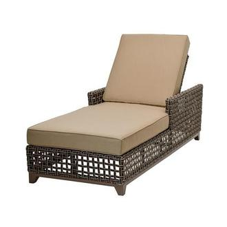 Fortuna Brown Chaise Lounge