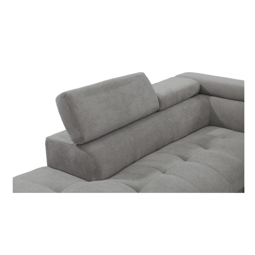 Taheri Gray Corner Sofa w/Left Chaise  alternate image, 4 of 8 images.