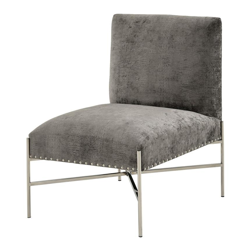 Barrymore Gray Accent Chair  main image, 1 of 7 images.