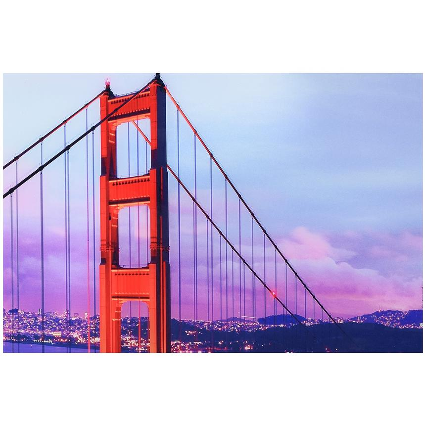 Golden Gate Set of 3 Acrylic Wall Art  alternate image, 3 of 3 images.