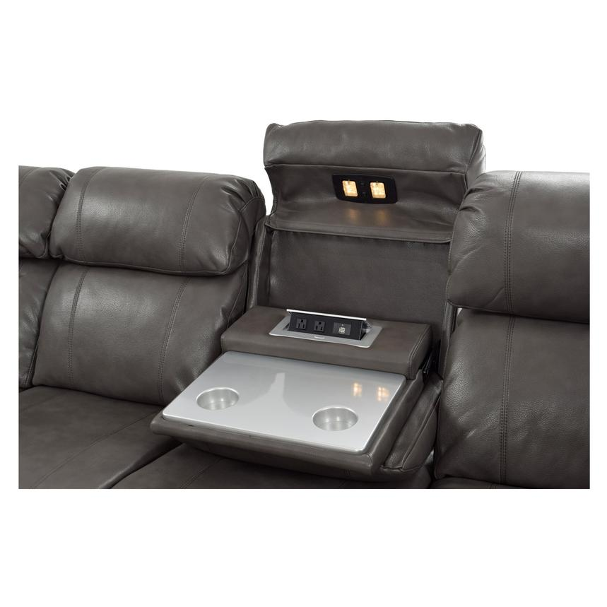 Magnetron Gray Power Motion Sofa w/Right & Left Recliners  alternate image, 8 of 12 images.