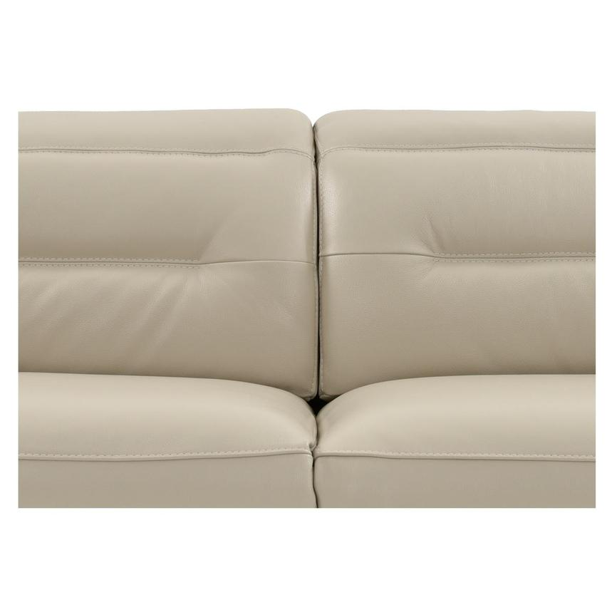 Anabel Cream Power Motion Leather Sofa w/Right & Left Recliners  alternate image, 7 of 12 images.