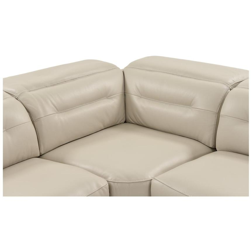 Anabel Cream Power Motion Leather Sofa w/Right & Left Recliners  alternate image, 7 of 14 images.