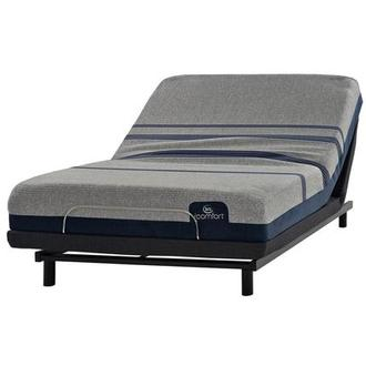 iComfort Blue Max 1000 Cushion Firm King Mattress w/Essentials III Powered Base by Serta