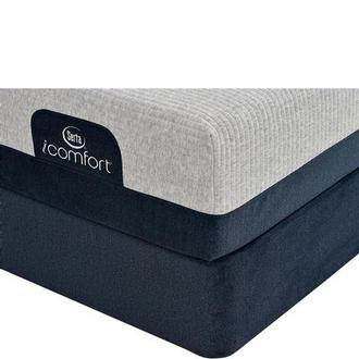 iComfort Blue 300 Twin XL Mattress w/Low Foundation by Serta