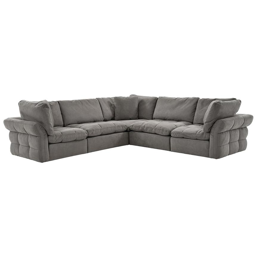 Francine Gray Sectional Sofa  main image, 1 of 11 images.