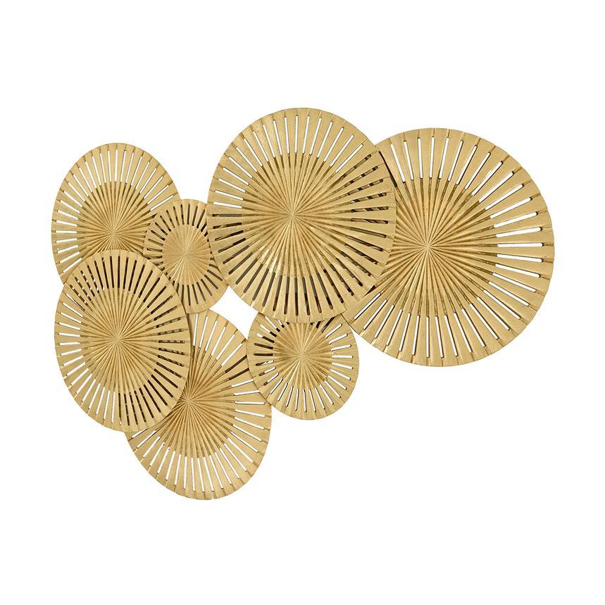 Cerchi Gold Wall Decor El Dorado