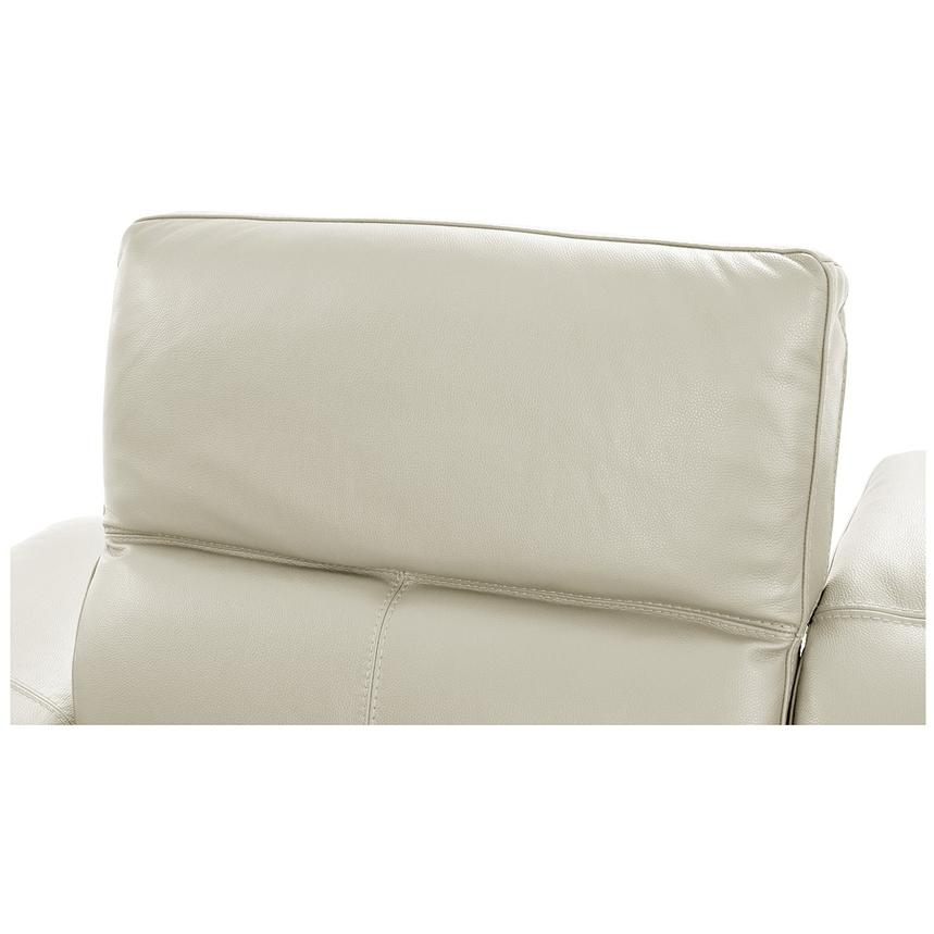 Toronto White Leather Power Reclining Sofa w/Right Chaise  alternate image, 6 of 11 images.