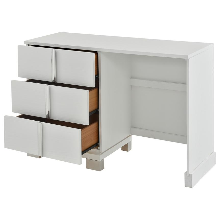 Venezia White Vanity Desk Made in Brazil  alternate image, 2 of 7 images.
