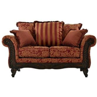 Ada Red Loveseat